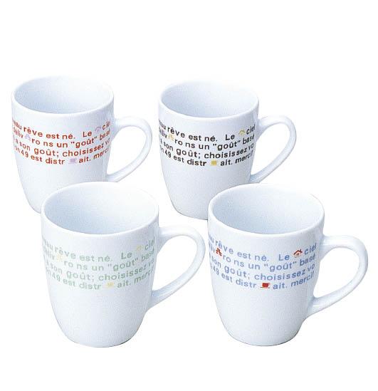 フレンチマグカップ